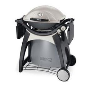 A small gas grill can be used in any weather, year round. Cooks food much faster than charcoal (though does not have such a rich grilled flavor!) Barbeque at Your Apartment | MyNewPlace Blog