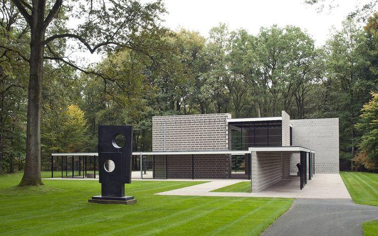Rietveld paviljoen, Kröller-Müller Museum, Otterlo, Gelderland.