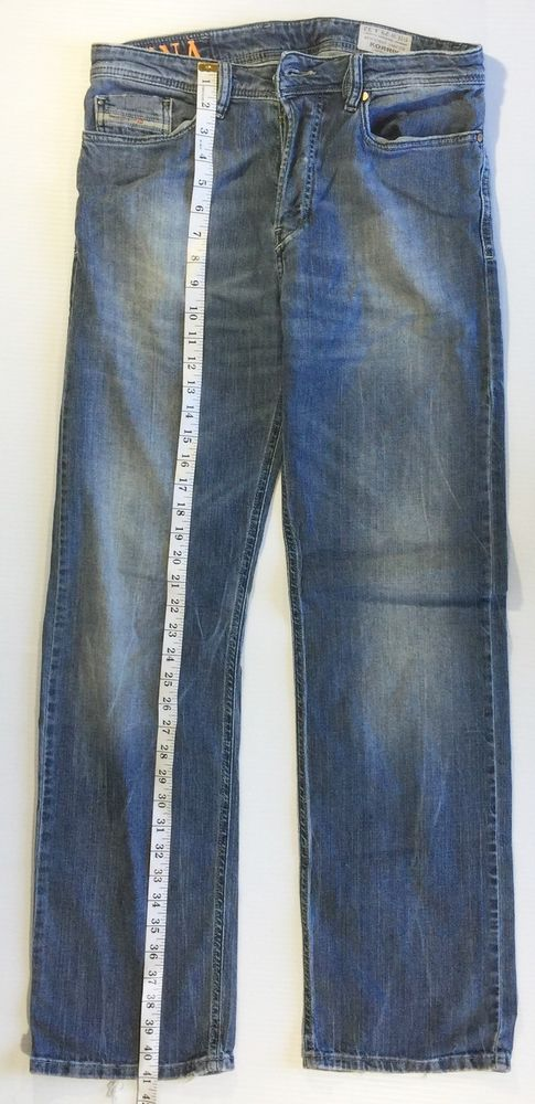 Mens Diesel Industry Korrik Comfort Straight Mens Jeans 29/32 wash 0066X stretch #Diesel #Comfort