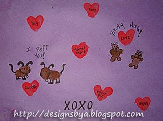 Valentine's Day Thumbprints