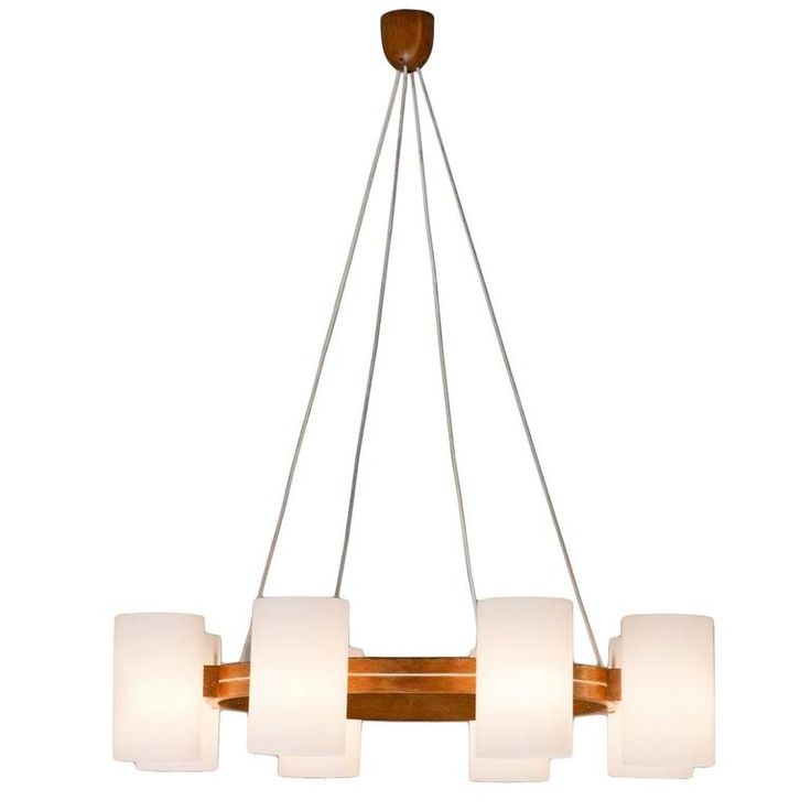 Scandinavian Chandelier by Luxus | From a unique collection of antique and modern chandeliers and pendants at https://www.1stdibs.com/furniture/lighting/chandeliers-pendant-lights/
