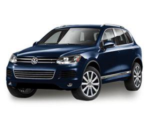 2014 Volkswagen Touareg Night Blue