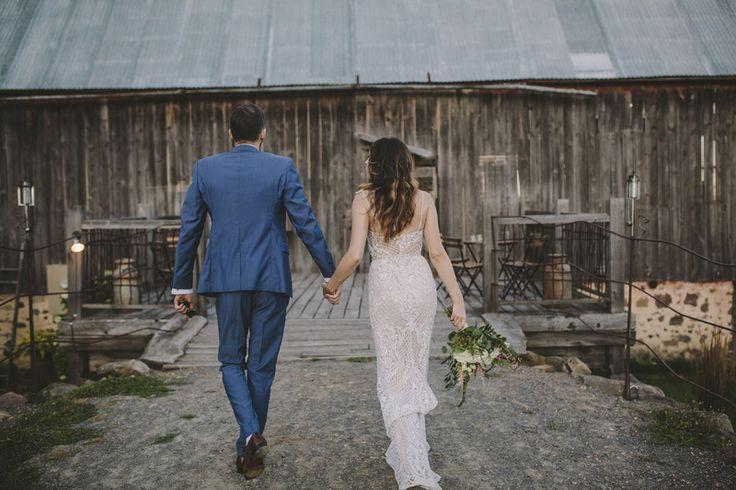 The Enchanted Barn | Hillsdale, WI | rustic barn wedding venue