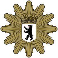 Polizeistern der Berliner Polizei