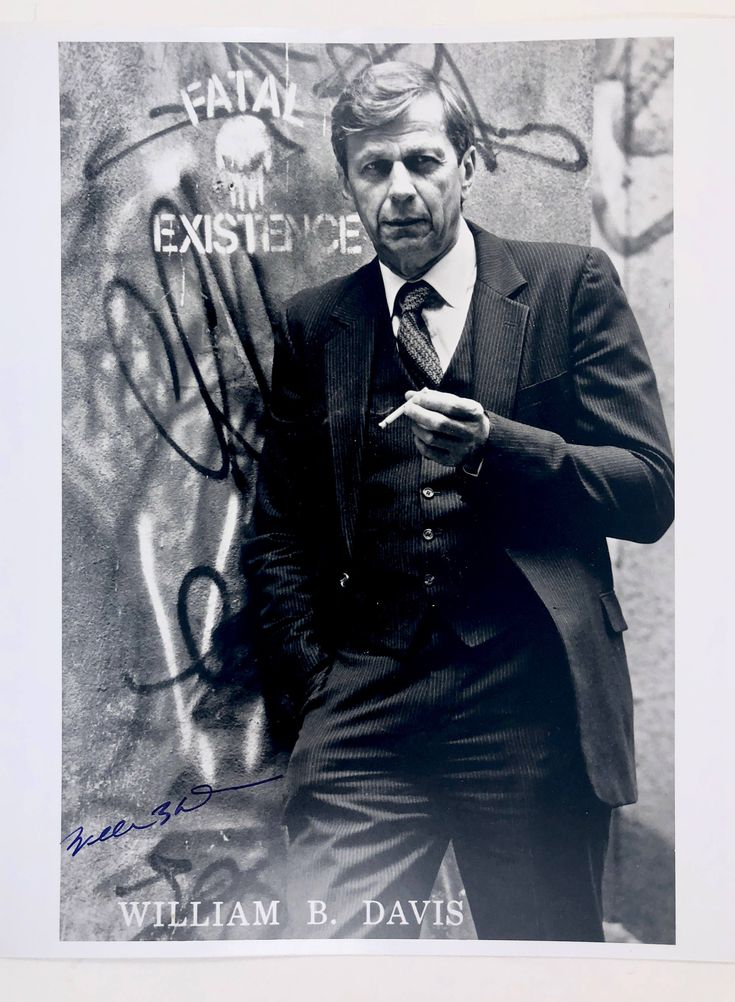 X-Files Cigarette Smoking Man Signed Photo, William B Davis, Vintage 8x10 Autographed Picture,  Black and White, Certificate of Authenticity by BarnabyGlenVintage on Etsy