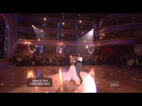 'Dancing With the Stars': Jaleel White's smooth foxtrot has us swooning #DWTS
