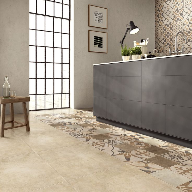 Minimalist kitchen using Charlotte Series (CLT601 + CLT602 + CLT606 + HP601 + HP603)  *HP (mosaic).