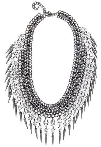 Lola Spike Necklace – Cocoa Jewelry Designer Fashion Jewelry & Accessories