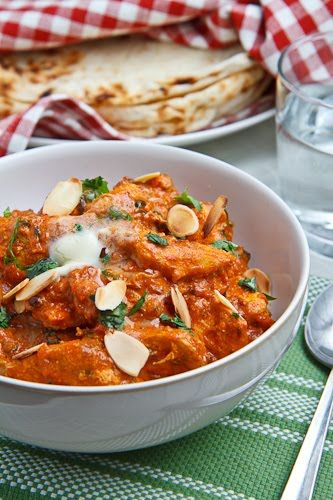 butter chicken, my favorite Indian food