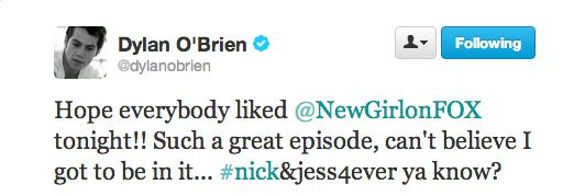 2. He ships Nick and Jess.