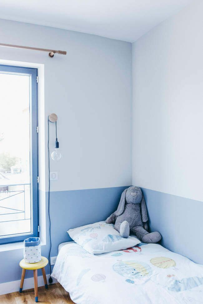 Renovation Of An Abandoned House In Surburban Paris Boys Room