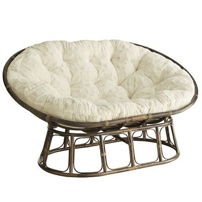 Double Papasan Chair $400 -- don't let the listed prices fool you, base plus bowl plus pad!! Getting this with dark brown pad.