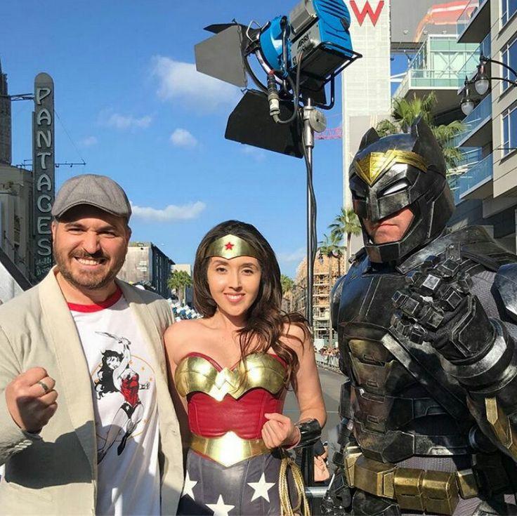 Superheroes Impractical jokers, Brian quinn, Wonder woman