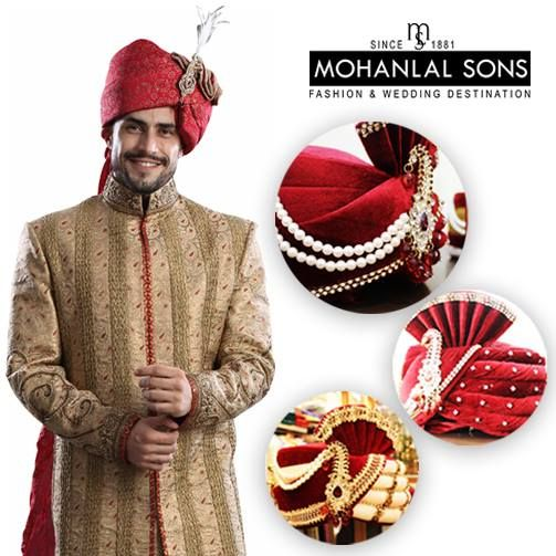 You call it a D-Day or BIG Day, it's special in all it's terms, so how can you ignore your look for the day, come and check out your options at Mohanlal Sons