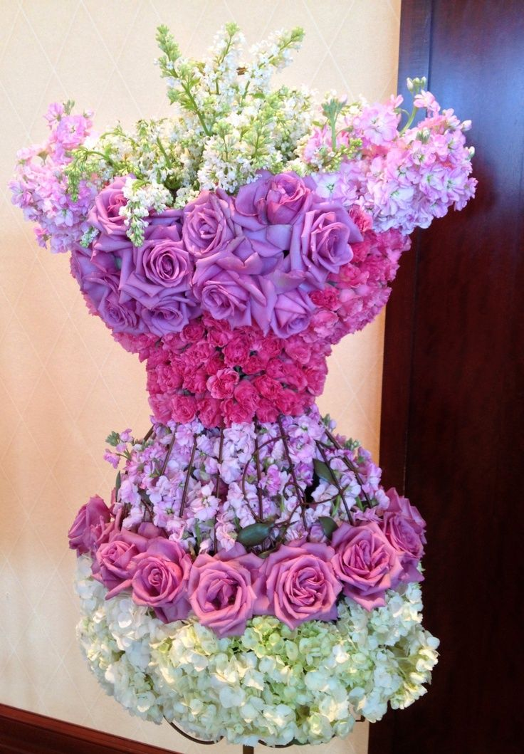 Floral Couture Centerpiece