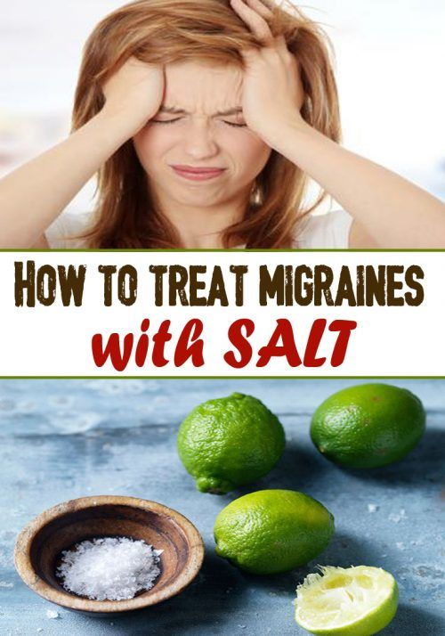 How To Treat Migraines With Salt Weight Loss Remedies Migraine