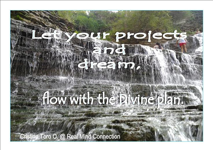 Let's build trust, let's relax about the outcome in your dreams and projects... you may be surprise when you really let go your fears and anxiety and let the Divine in charge!