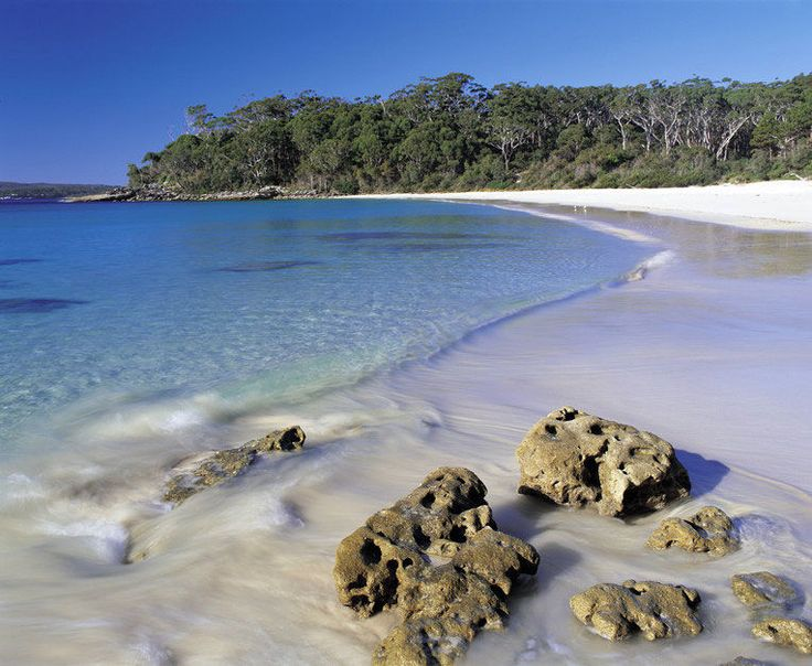 Murrays beach at Jervis Bay