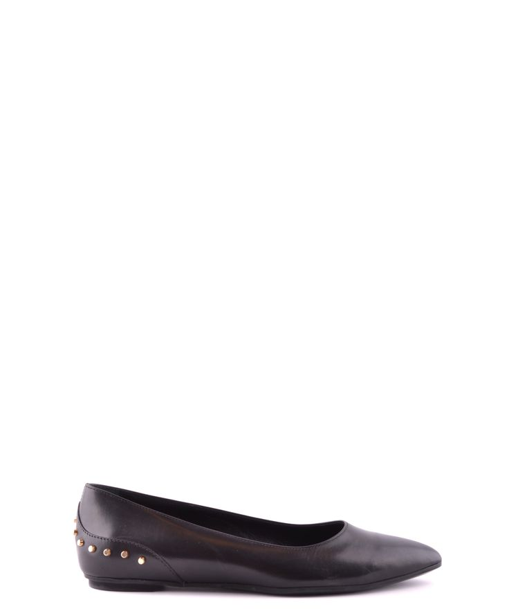 TOD'S-Tod's Women's Black Leather Flats #Shoes #Oxford #TOD'S