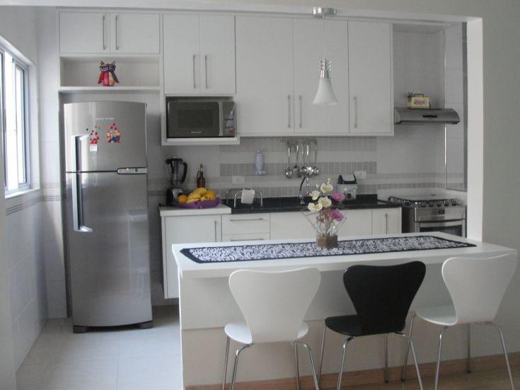 cozinha clean e linda!