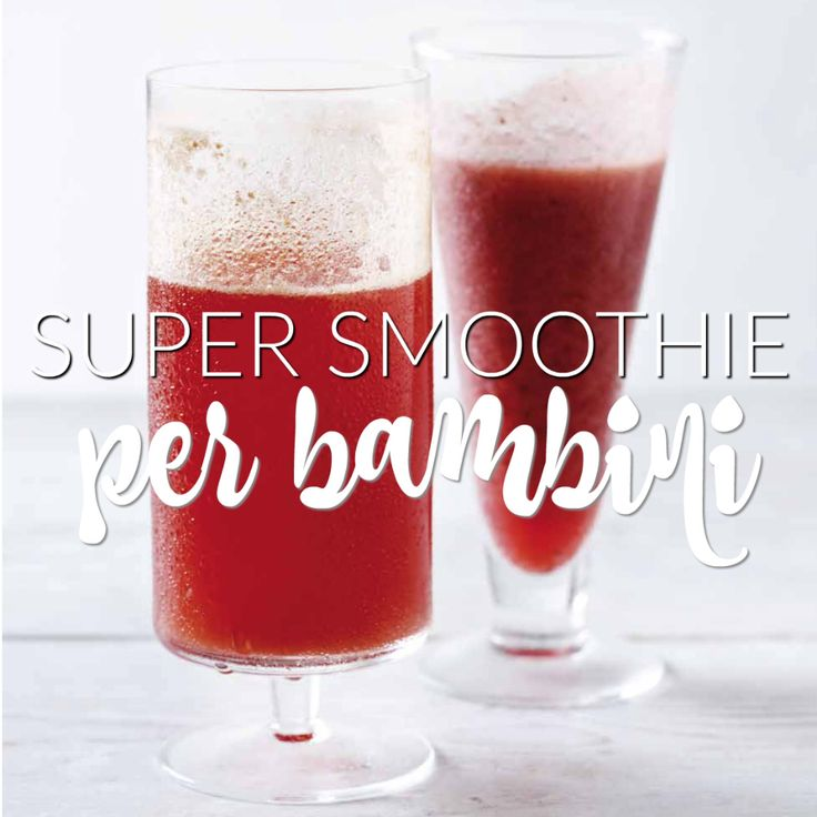 Super smoothie per bambini http://www.babygreen.it/2016/08/super-smoothie-per-bambini/