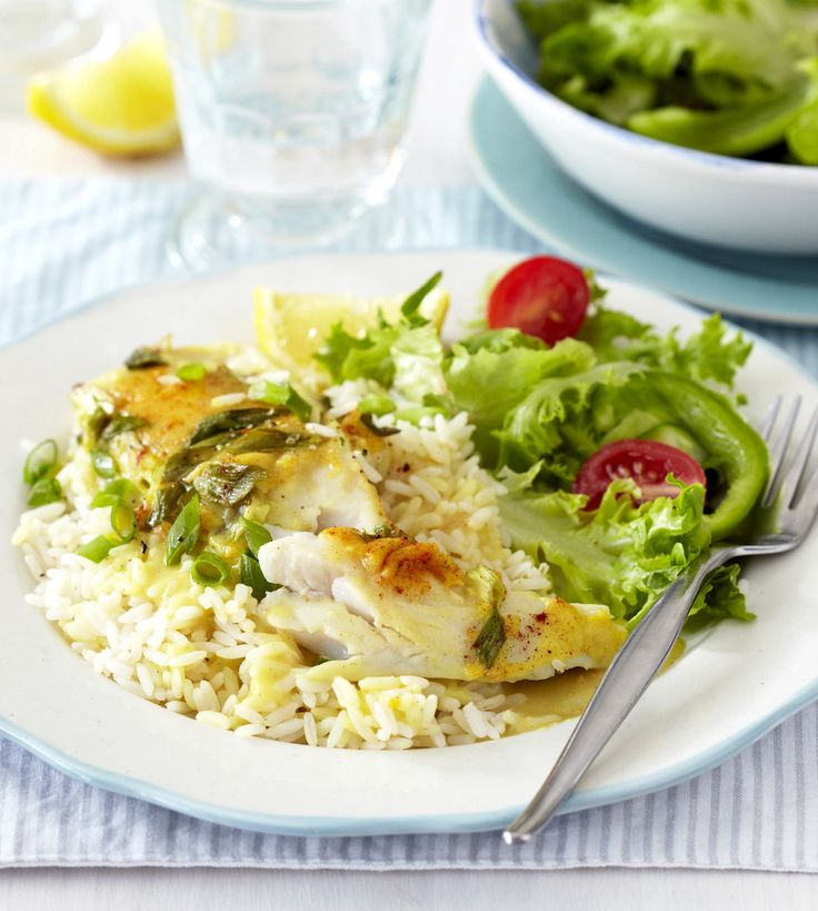 Baked Fish with a Creamy Cheese Sauce: easy, nourishing family fare!