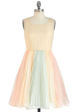 This one is really sweet and could use some fun accessories!   The Ethereal Thing Dress, #ModCloth