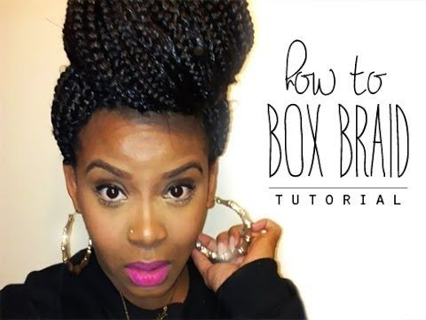 NATURAL HAIR   HOW TO START BOX BRAIDS (POETIC JUSTICE BRAIDS)