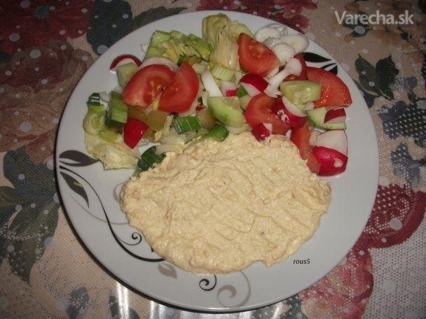 Hummus - cícerová nátierka - Recept