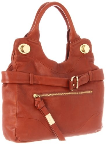 Foley   Corinna Women�s Jet Set Satchel, Terracotta