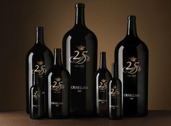 Аукцион Ornellaia в честь 25-летия вина