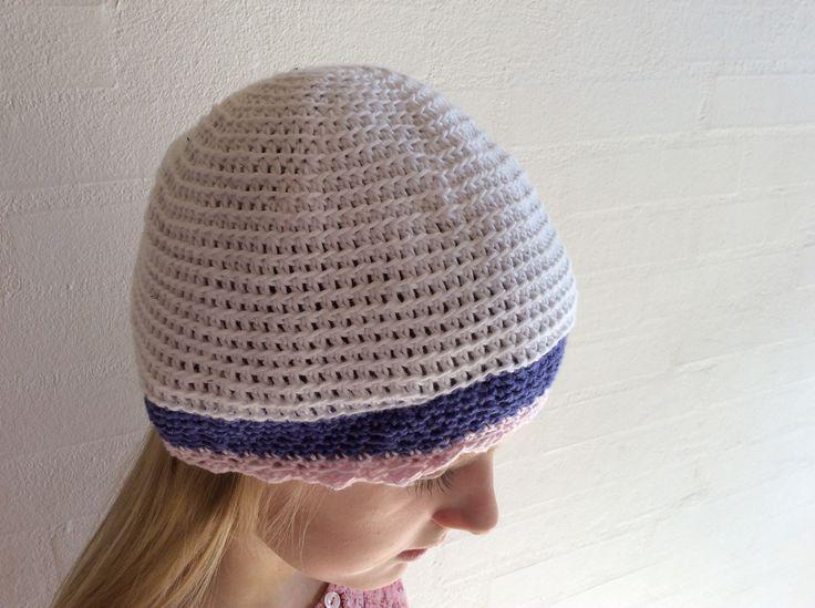 Crochet hat girl / Hæklet hue pige