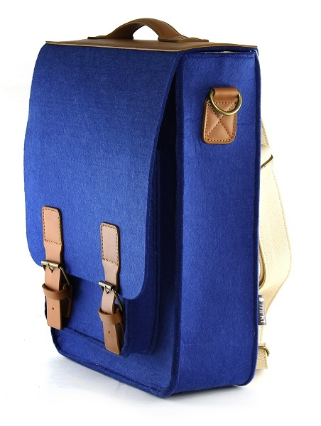 Kendrick, 2-way felt backpack by Mad Rabbit Kicking Tiger. Shop Local @ First Access Boutique in Austin, Texas