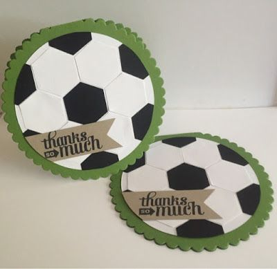 Mayra's Stampin' Place: Soccer Cards
