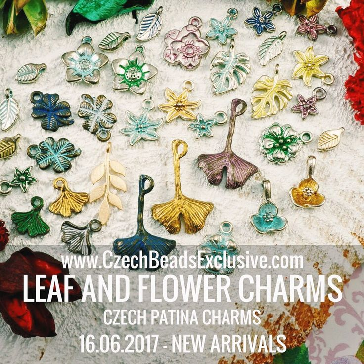 Dear beaders, Today we are very glad to represent our exclusive novelty – Czech Patina Leaf And Flower Charms. It may be a great addition to your floral jewelry, you can use it as a cute accents or also as a main part of your jewelry designs. Leaf and Flower [...]