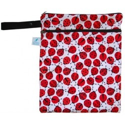 Sling Sisters Double Duty Wet Bag - Lady Bugs $26