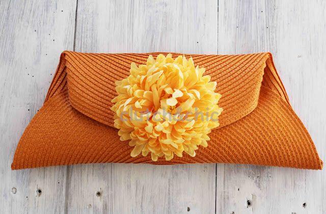 clutch&chic: fundo laranja