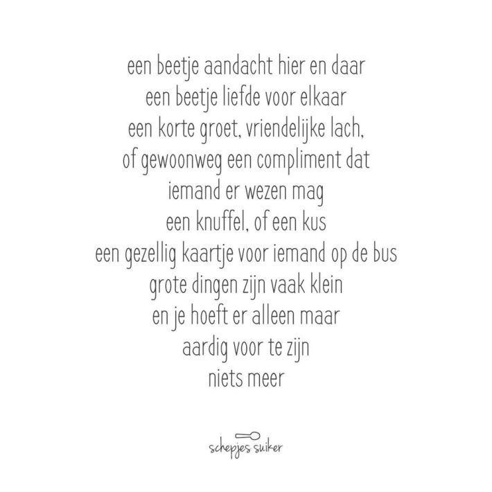 #versjes #gedichtje #lievewoorden #geluk #liefde