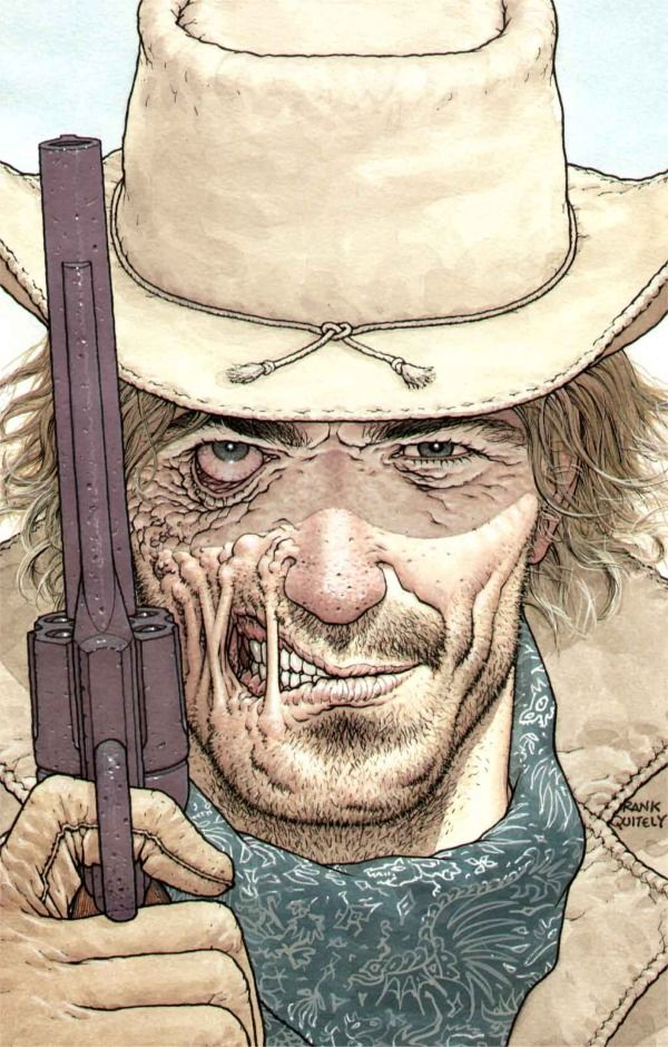 Jonah Hex by Frank Quitely