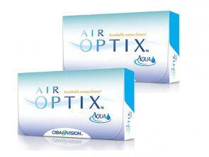 2 x AIR OPTIX™ Aqua 6 Stk
