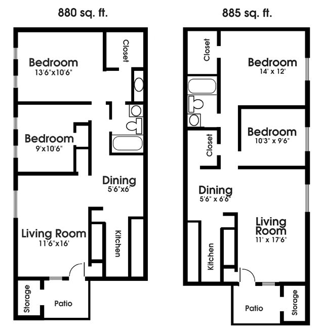 17 Best Apartment Floor Plans Images On Pinterest