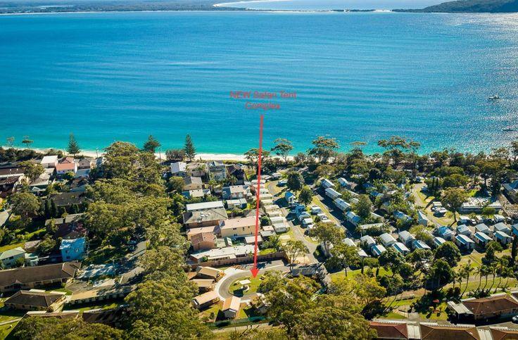 shoal-bay-holiday-park-aerial - Port Stephens