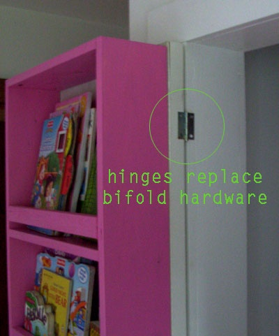 BEHIND CLOSET DOOR STORAGE Step by Step plans great idea for kids wardrobes