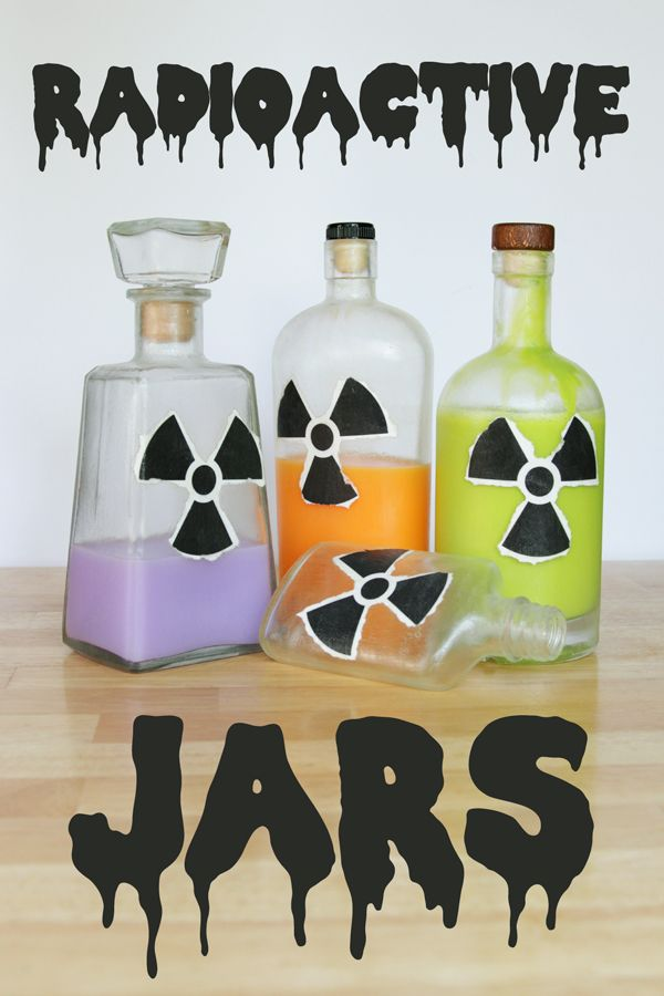 how to crafts ideas how to radioactive jars occupied click thru for 4720