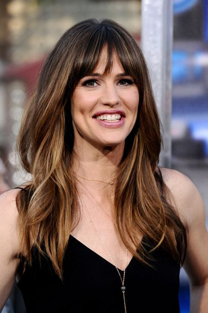 Beautiful hair. Jennifer Garner à la Première de Draft Day à Los Angeles le 7 avril 2014