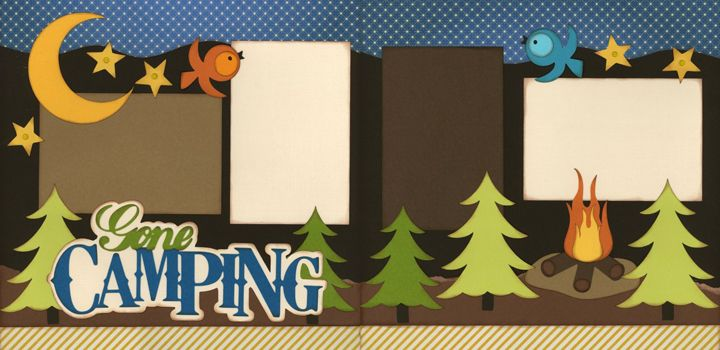 Out on a Limb Scrapbooking Page kit - Cute!