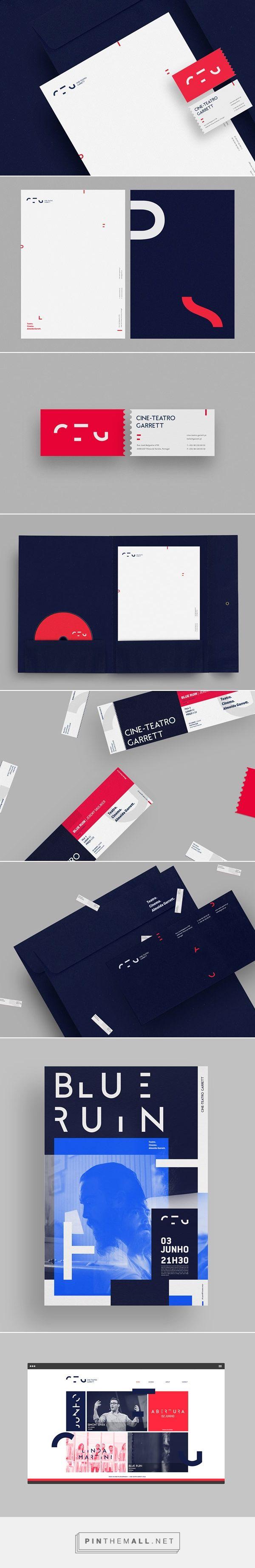 Cine-Teatro Garrett - Identity by MAAN Design Studio