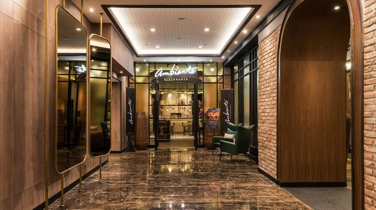 Ambiente Ristorante, a rustic sophistication and trendy vibe restaurant looks more classic with Metaphor touches. Big mirrors help lighting illuminates the room with a warm yet romantic atmosphere.
