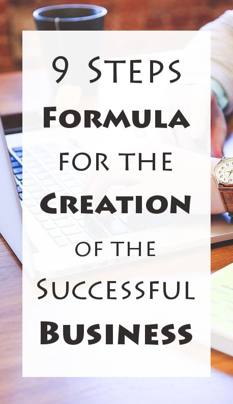 There's an established formula for the creation of the successful business.  There's no space for arguments, you need to follow certain steps, and progress day by day. Enough with the talking, let me tell you the 9 steps you need to follow in order to turn your crazy business idea into a successful business.    MORE: http://liveyourdreams.tips/business-success/turn-crazy-business-idea-successful-business/ #business #idea #successfulbusiness