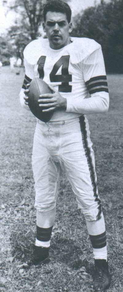 Ralph Tarsitano's photo of Cleveland Browns Hall of Famer Otto Graham